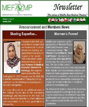 MEFOMP Second Newsletter