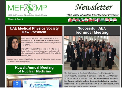 MEFOMP Fourth Newsletter