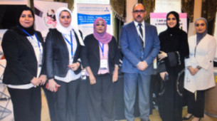 Women's Committee of MEFOMP participated in Kuwait Exhibition