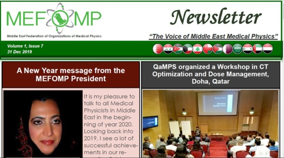 MEFOMP sixth newsletter
