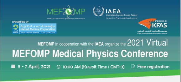2021 Virtual MEFOMP Medical Physics Conference
