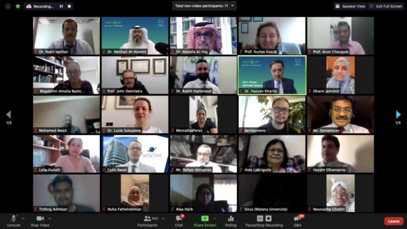 Great Success of 2021 Virtual MEFOMP Conference