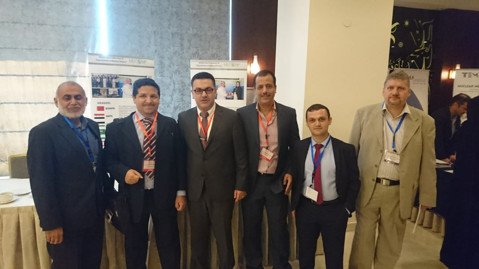 MEFOMP Team at 1st International Conference of ARSNM and JOSNM