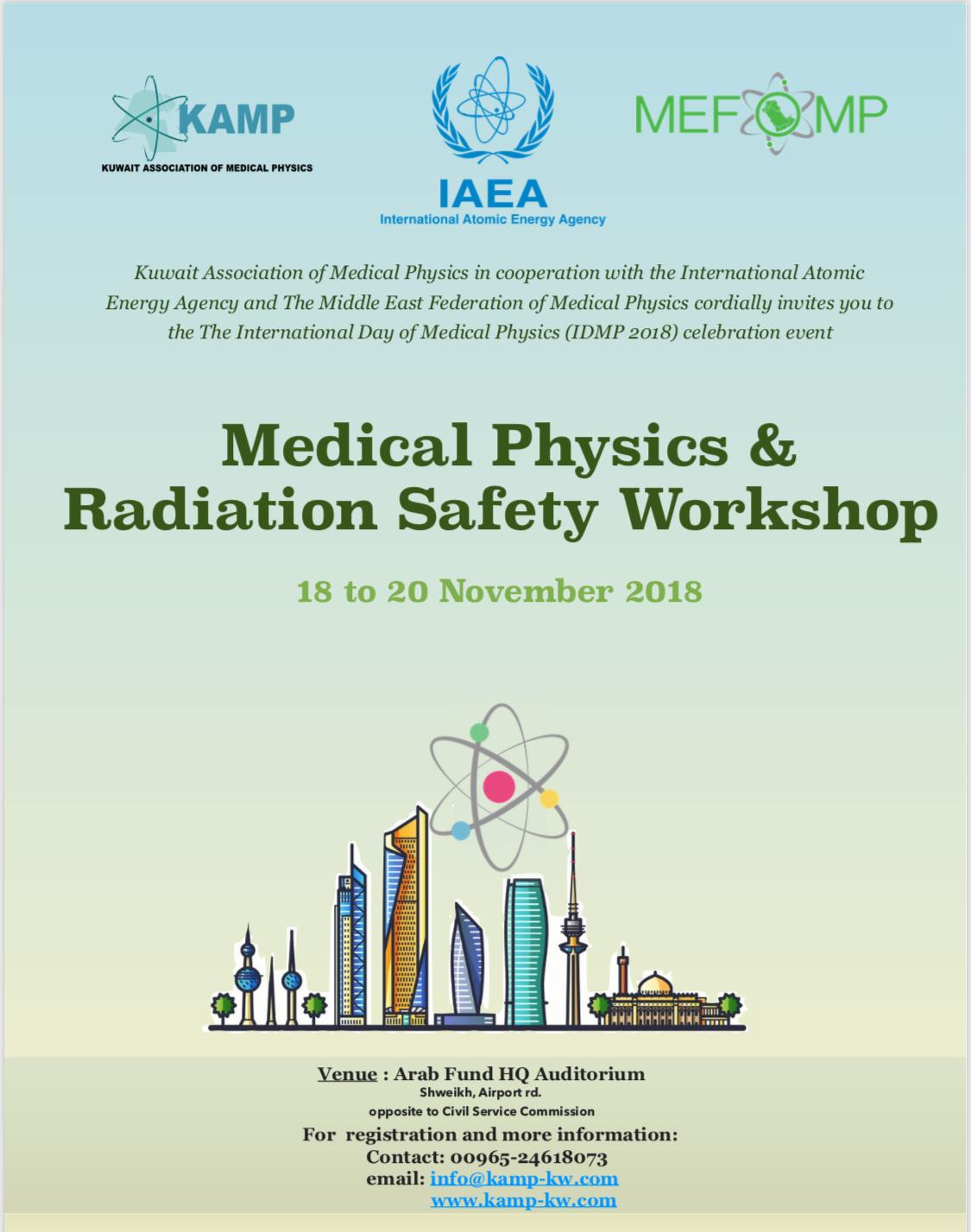 International Day of Medical Physics 2018