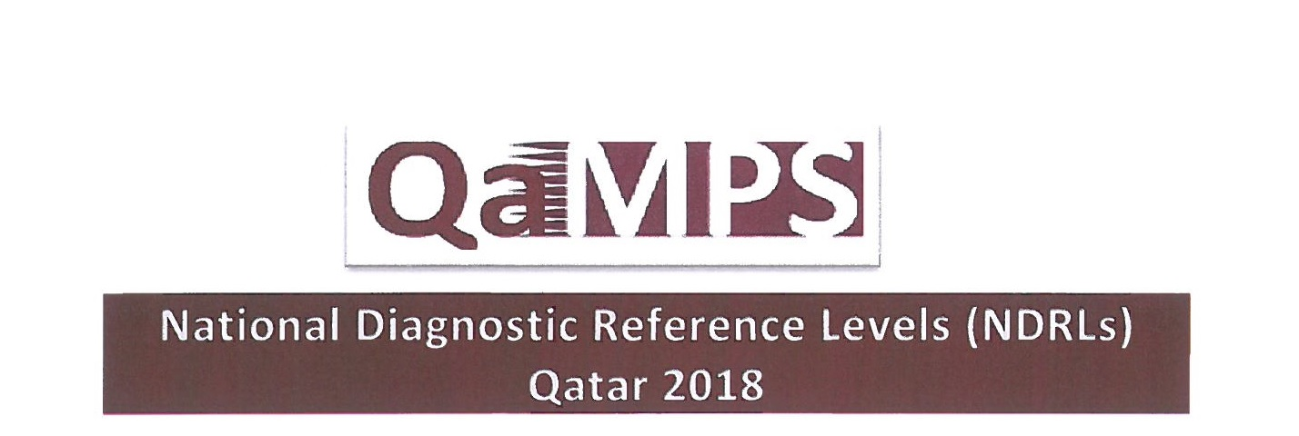 National Diagnostic Reference Levels (NDRL's) Qatar 2018