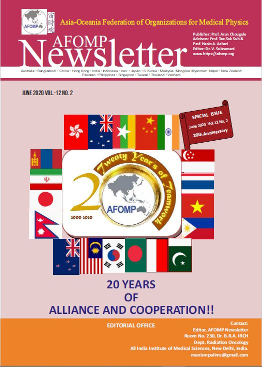 AFOMP Special Issue Newsletter on the 20th Anniversary
