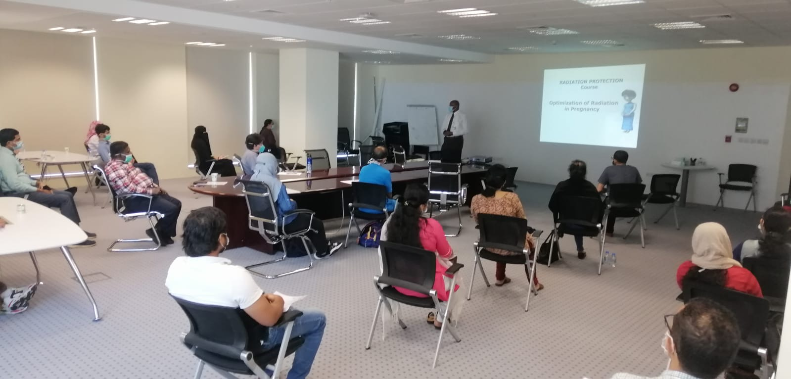 QaMPS Restarting Radiation Protection Training Courses