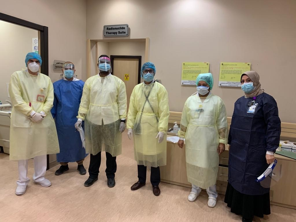 Medical physicists at the forefront of the response to COVID-19 in Kuwait