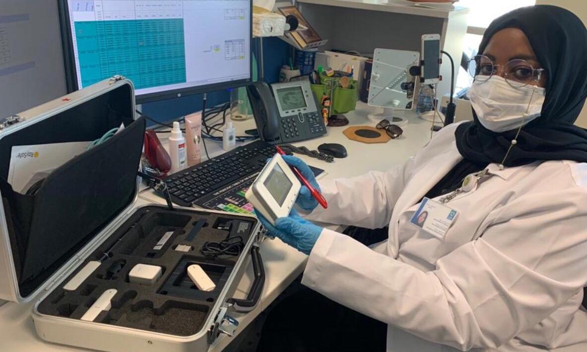 Critical role for Medical Physics team during COVID19 HMC - Qatar