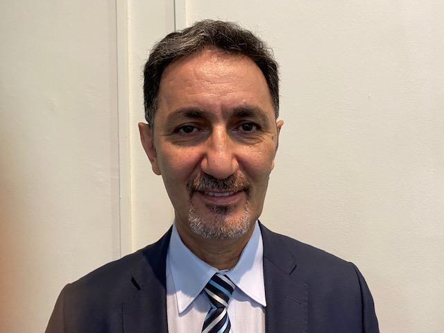 Dr. Hassan Kharita winner of IOMP IDMP award