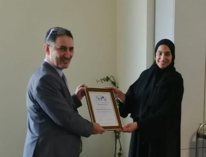 MEFOMP celebrate the IOMP IDMP award