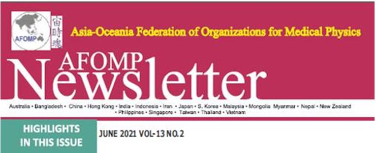 AFOMP Newsletter June 2021 Issue