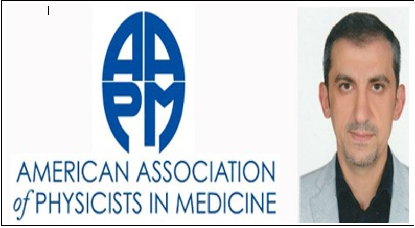 MEFOMP Medical Physicist selected in AAPM Special Task Group
