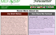 MEFOMP Third Newsletter