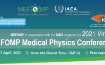 IAEA in Cooperation with MEFOMP Organize the 2021 Virtual Medical Physics Conference