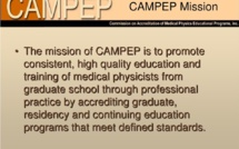 CAMPEP AND IOMP Accredited MEFOMP Conference