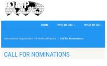 IOMP Honorary Membership MIOMP (Hon) 2021