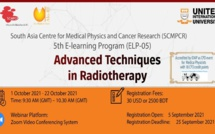 Online Course on Advanced Techniques in Radiotherapy